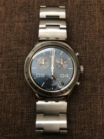 d394718a058 Relógio swatch irony chrono