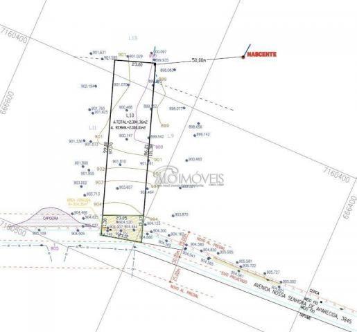 Terreno à venda, 1281 m² por R$ 281.890,00 - Estados - Fazenda Rio Grande/PR - Foto 8