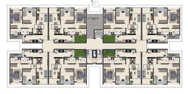 Reserva Natura - Apartamento com 2 dormitórios à venda, 55 m² por R$ 156.350 - Lagoa Redon - Foto 5