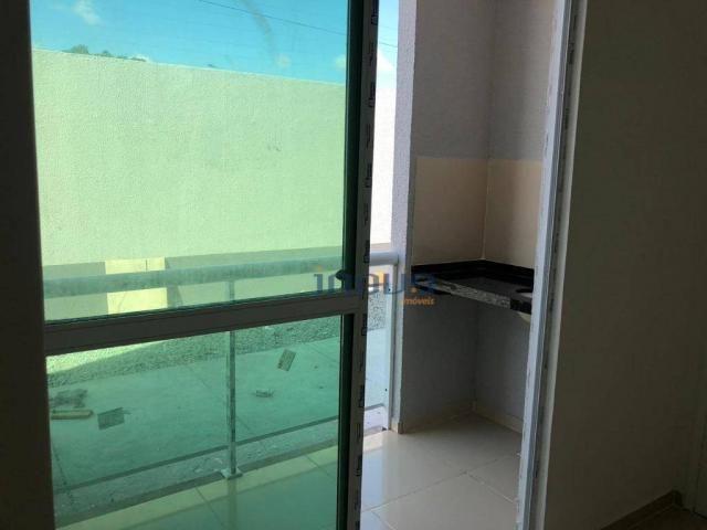 Apartamento com 2 dormitórios à venda, 54 m² por R$ 115.000,00 - Centro - Pacatuba/CE - Foto 6