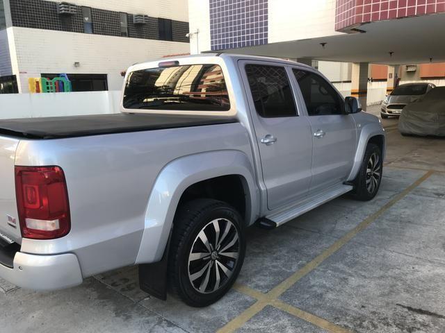 Amarok Trendline 2018 4x4 2.0 turbo diesel Aut (Único Dono)IPVA 2020 quitado