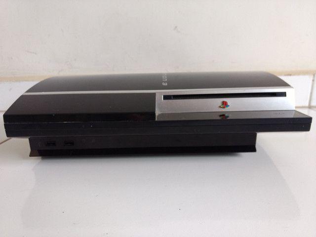 Sony/Playstation 3 PS3 fat 160gb + 2 controles usado - Foto 2