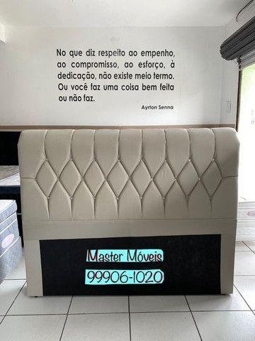 Cabeceira de cama casal NOVA - Entrego! - Foto 3