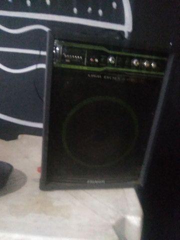 caixa de som 800w de potência - Foto 3