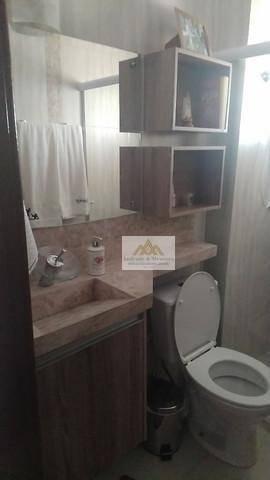 Apartamento com 2 dormitórios à venda, 56 m² por R$ 265.000,00 - Planalto Verde - Ribeirão - Foto 4