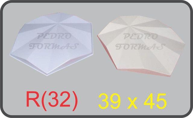 Forma de Gesso 3D - Foto 3