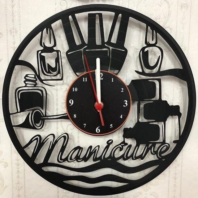 Relógio de parede vinil - Foto 6