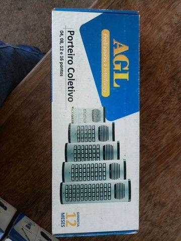 Porteiro eletrônico 4 pontos AGL com os monofones - Foto 5