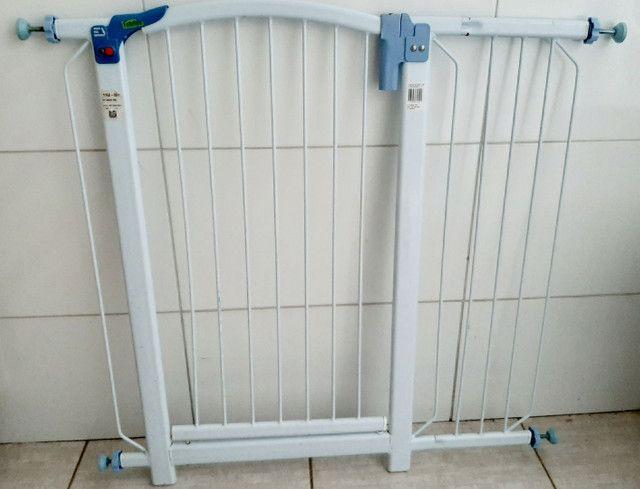 Kit proteção Tubline porta portão pet bebê