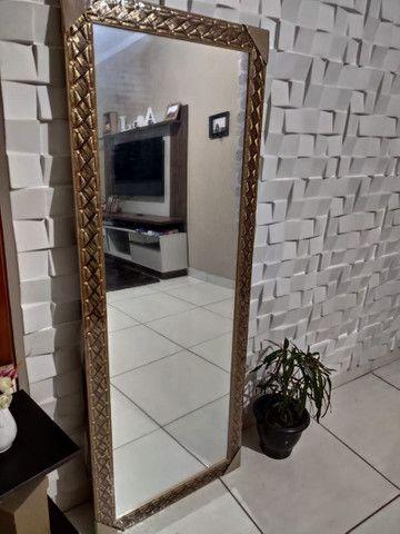 ESPELHO GRANDE ( Com Molduras em Madeira ) De parede, a pronta entrega - Foto 2