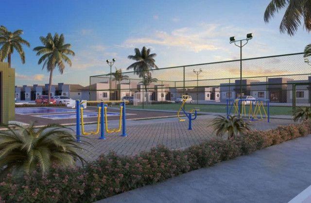 Reserva Guarujá Casa 2/4 com laje em condomínio no Jardim Brasil - Foto 3
