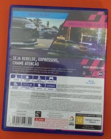 Jogo PS4 nerd for speed heat - Foto 2