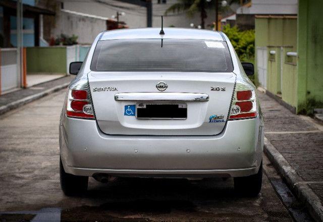 Nissan Sentra 2.0 S Flex GNV Automático em perfeito estado - Foto 6
