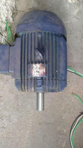 Motor 10 cv trifásico rpm 1730 - Foto 4