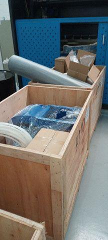 Máquina corte e solda a LASER entre outros equipamentos como dobradeira metaleira  - Foto 6