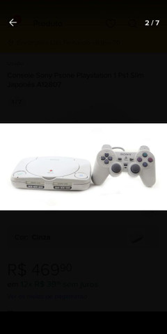 Playstation 1 bom estado  - Foto 4
