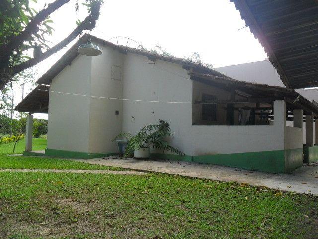 Linda chacara 1,100mt com casa de 3 dormitorios fundo para o rio mogi guaçu otimo local - Foto 5