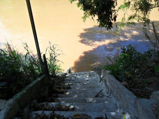 Linda chacara 1,100mt com casa de 3 dormitorios fundo para o rio mogi guaçu otimo local - Foto 14