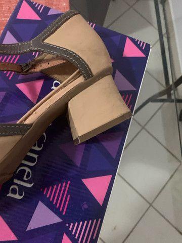 Maravilhoso sapato da linha conforto zambeze número 37 - Foto 4