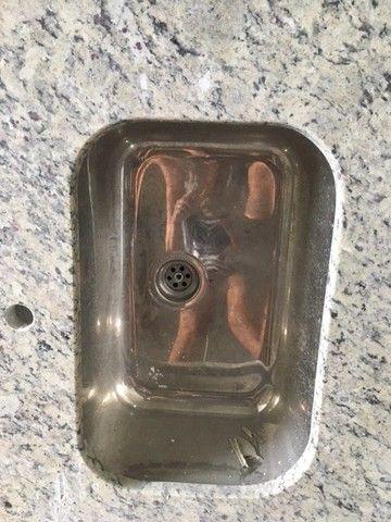 Bancada em granito bege arabesco p/cozinha com pia - Foto 3