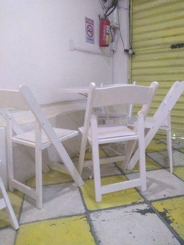 mesa e cadeira  - Foto 4