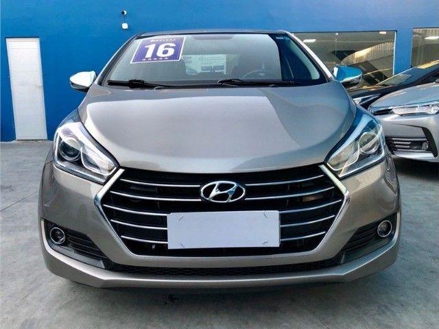 Hyundai-Hb20s Premium 1.6 Flex aut 2016 Financiamos sem comprovação de renda - Foto 9