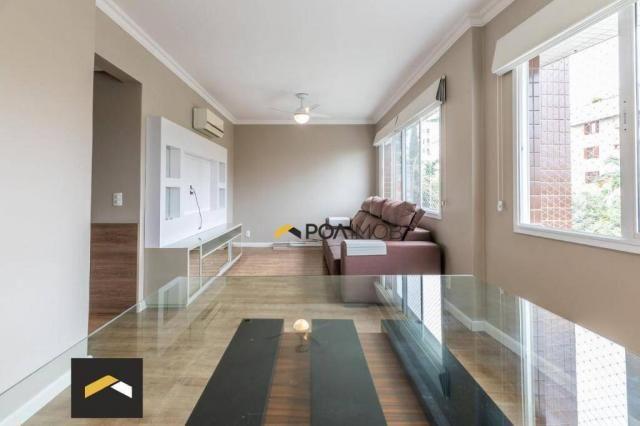 Apartamento com 3 dormitórios para alugar, 96 m² por R$ 3.600,00/mês - Petrópolis - Porto  - Foto 3