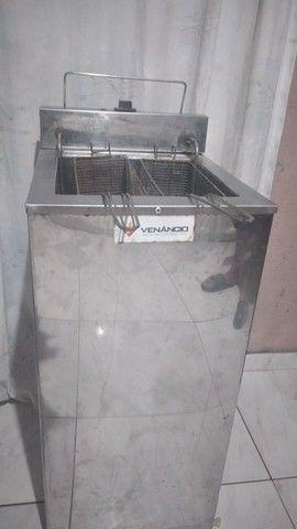 Fritadeira elétrica industrial 18 Litros 220v