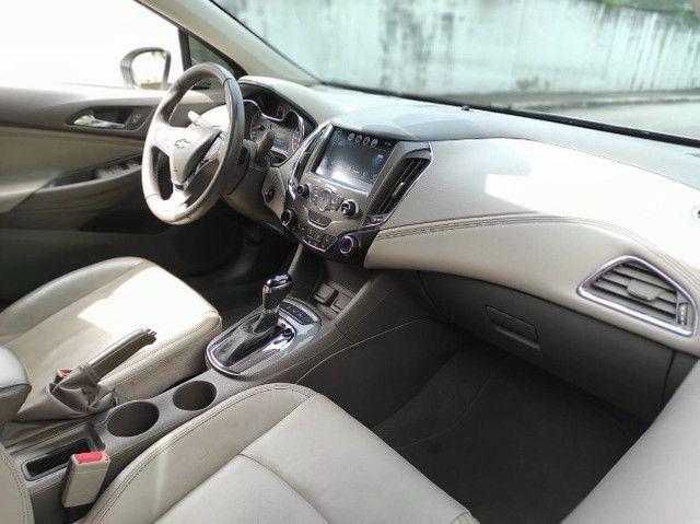 Cruze NJ 1.4 turbo aut 2017 Impecável! Top de linha! Chama no zap! - Foto 9