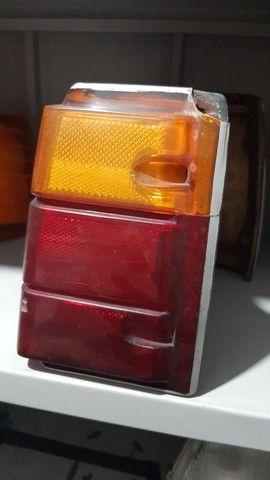 PAR de Lanternas traseiras Caravan Original GM com detalhes  - Foto 3
