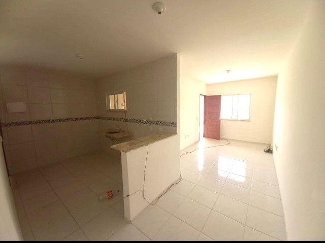 DP casa nova com 2 quartos 2 banheiros com doc. inclusa com entrada facilitada - Foto 3