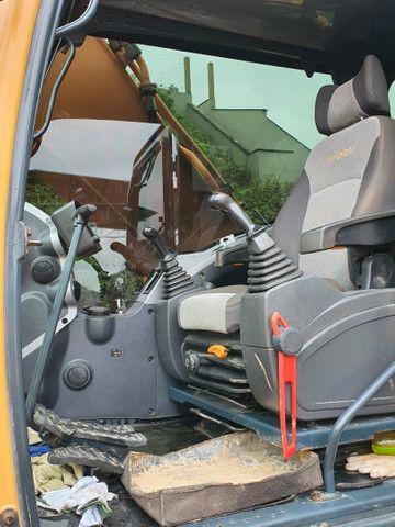 Escavadeira Hyundai 220 ano 2013  - Foto 5