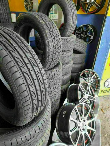 Pneus ligue Adriano pneus afogados tem  - Foto 4