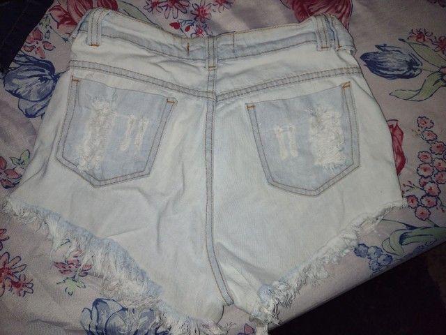Vendo short jeans e saia jeans - Foto 3