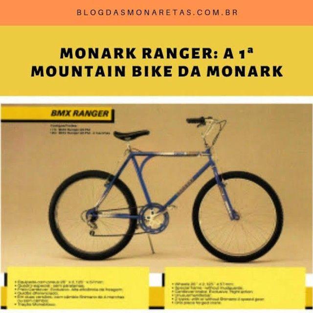 Monark Ranger - Retrô - Vintage - A primeira mountain bike da Monark - Foto 6
