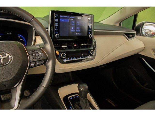 Toyota Corolla 2020 1.8 altis hybrid premium cvt - Foto 13