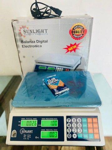 Balança digital 40kg com dois visor bivolt nova lacrado com garantia temos a pronta  - Foto 2