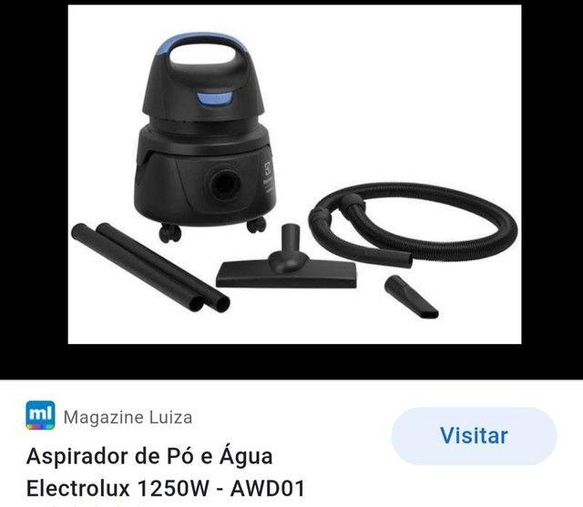 Aspirador electrolux.