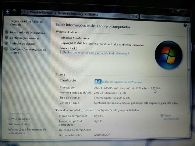 Vendo notebook samsung
