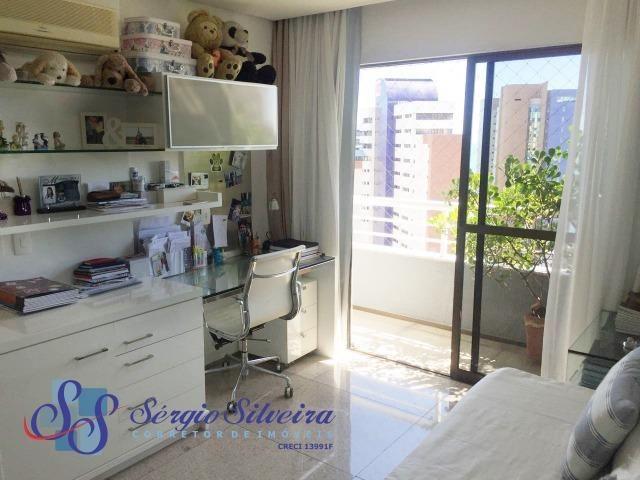 Apartamento no Meireles com vista mar e área de lazer 4 suítes na Joaquim Nabuco - Foto 14