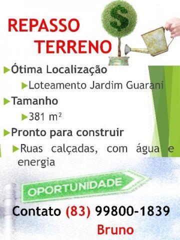 Negocio terreno de 381m² do Loteamento Jardim Guarani