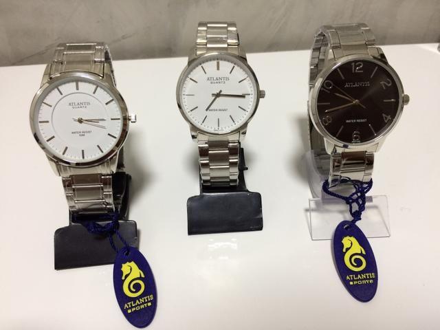 9834e9ea6e1 Relógios Atlantis Masculinos (PROMOÇÃO) - Aceitamos Cartões ...