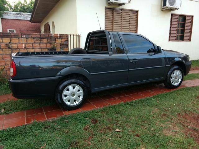 Saveiro 1.6 ap original a alcool pneus novos revisada inteira valor R$15.900 - Foto 7