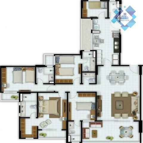 Broadway 138m 3 dormitórios Papicu - Foto 2