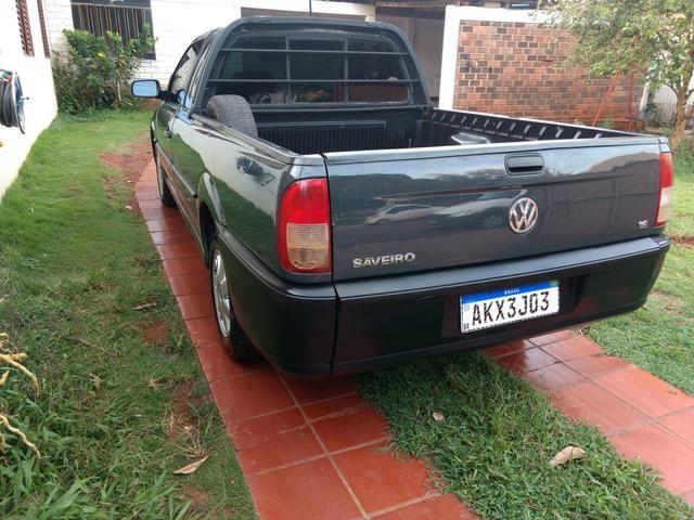 Saveiro 1.6 ap original a alcool pneus novos revisada inteira valor R$15.900 - Foto 6