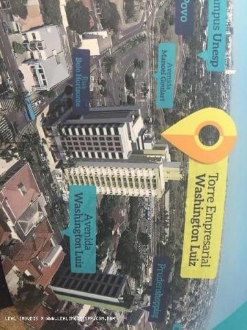 Sala comercial para locação em presidente prudente, edificio torres empresarial washington - Foto 15