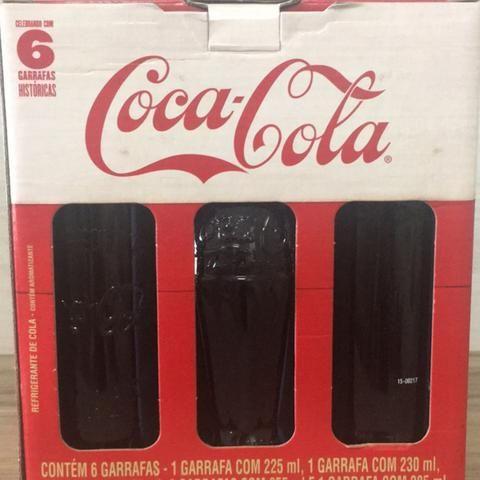 6 garrafas históricas da coca-cola - Foto 2