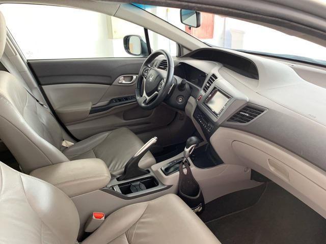 Honda Civic LXL 1.8 Aut - 2012 - Foto 6