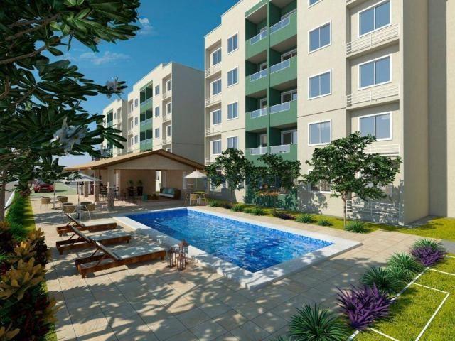 Reserva Natura - Apartamento com 2 dormitórios à venda, 55 m² por R$ 156.350 - Lagoa Redon