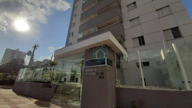 Apartamento Localização Privilegiada à venda, 126 m² por R$ 485.000 - Centro - Campo Grand